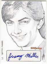2014 POP CENTURY STEVE STANLEY SKETCH AUTO: JEREMY MILLER #1/1 OF ONE AUTOGRAPH