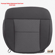 2004-2006 Ford F150 XLT Passenger Bottom Dark Gray Cloth Replacement Seat Cover