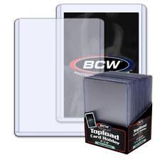 25 3x4 BCW 2 mm 79 pt. Topload Holders - Jersey/Memorabilia cards toploaders
