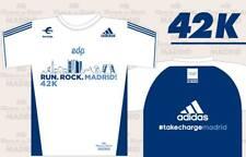 CAMISETA ROCK'N'ROLL MADRID MARATON 2018 talla M + Bolsa saco Marathon