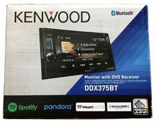 KENWOOD DDX375BT Kenwood 2-Din 6.2'' Wide VGA Color LCD Display w/LED Backlight