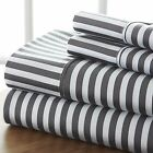 The Home Collection Premium Quality 4 Piece Sheet Set - Beautiful Ribbon Design