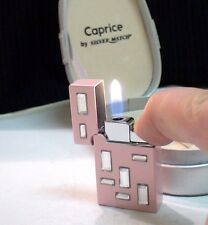 BRIQUET Ancien @ SILVER MATCH Caprice Laque strass @ Lighter Feuerzeug Accendino