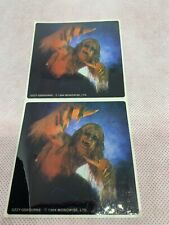 2 uncut ozzy O. Bark At The Moon tour concert fan club exclusive Stickers J1