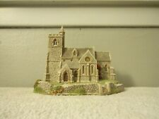 """Vintage 1989 Lilliput Lane (England) """"St. Lawrence Church"""" Collectible Building"""