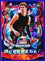 LAMELO BALL 2020-21 PANINI PRIZM RED ICE #83 DRAFT PICKS ROOKIE RC HORNETS