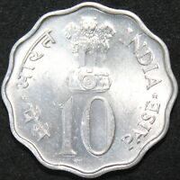 1976 B | India 10 Paise F.A.O. | Coins | KM Coins