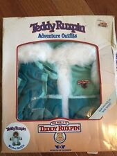 New Vintage Teddy Ruxpin Adventure Winter outfit