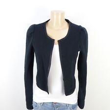 Ichi Blazer Veste Jacket Noir Taille S 36 (bd350)