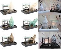 Buddha Zen Candle Wax Melt Tart Warmer Oil Burner Tealight Holder Elephant New