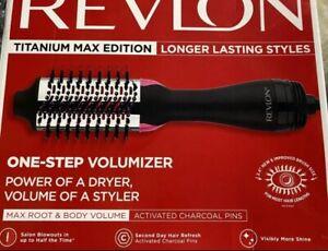 REVLON TITANIUM MAX EDITION (RVDR5282CT)   One Step VOLUMIZER 2.4in barrel size