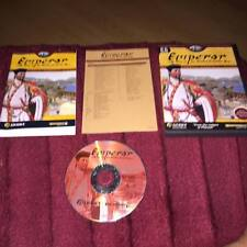 Emperor Rise of the Middle Kingdom  PC CD ROM complete ORIGINAL VERSION