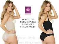 FAJA High Ann Waist Control BodysuiT Strapless Body Chery DG2366//67 FREE SHIPPIN