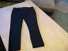 MOSSIMO Womens Black Stretch LOW RISE SKINNY Jeans 10 Fit 4 Long/Tall