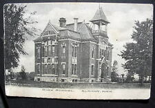 MICH ALMONT HIGH SCOOL 1909