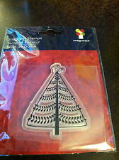 """Imaginisce Christmas Cheer """"Partridge & Pear Tree"""" Clear Stamp!"""
