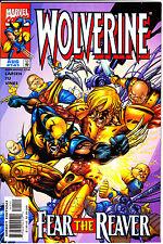 Marvel Comics WOLVERINE 1999 #141 VF+ Hulk/She-Hulk promo cards attached