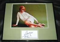 Angie Dickinson SEXY Leggy Signed Framed 11x14 Photo Display JSA