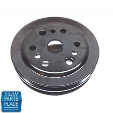 1964-80 Camaro Z28 Corvette Nova 2 Groove Crank Shaft Pulley GM 3858533