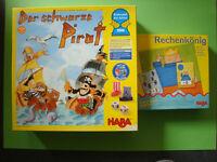 Der schwarze Pirat + Rechenkönig (Haba)