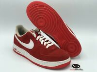 """Nike Air Force 1 Low 07' """"University Red/White"""" Size 10 315122-612 FREE SHIPPING"""