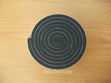 1m Black Single Sided Foam Tape Closed Cell 10mm Wide x 4.5mm Thick