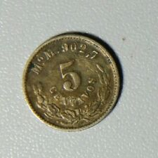 Mexico 1904 Mo M 5 Centavos