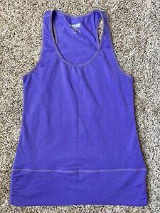 Womens Purple Kirkland Workout Tank Top Size Small