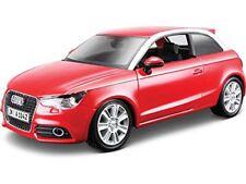 Merchandising Bburago - AUDI A1 1 24 (rosso / Nero)