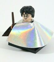 RARE LEGO HARRY POTTER INVISIBILITY CLOAK MINIFIGURE - 71022 - HOGWARTS STUDENT
