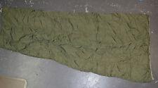 Used Canadian military 1 piece vintage 1960 sleeping bag (ref#sl-4 )