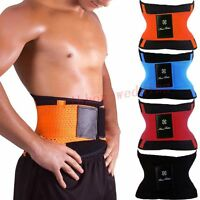 Men Xtreme Power Belts Thermo Shaper Waist Trainer Fitness Faja Cincher Corset R