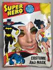 Halloween 1977 Vintage Supergirl Ben Cooper Superhero Costume And Mask No Cape