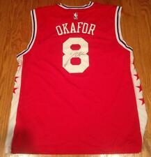 Jahlil Okafor Autographed Philadelphia 76ers Jersey