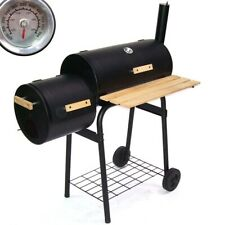 BBQ Holzkohlegrill Barbecue 56510 Smoker Grill Grillwagen Standgrill Räucherofen
