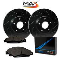 [Front] Rotors w/Metallic Pad Elite Brakes (2005 - 2006 Equinox 02 - 07 Vue)