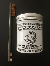 Coins & Relics Cleaning Kit - 7 oz Renaissance Wax + ONE BRASS Brush> Must Have