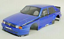 1/10 RC Car BODY Shell ALFA ROMEO 75 TURBO EVO 190mm BLUE *FINISHED* #48483