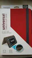 Targus Universal 9.7-10.1 Tablet Flip Case - Red - Universal