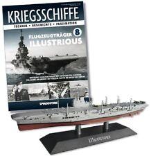 DeAgostini 1:1250 Royal Navy Aircraft Carrier - HMS Illustrious, #DAKS08