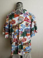 Reyn Spooner L 49ers NFL San Francisco Football Champions Floral Hawaiian Shirt
