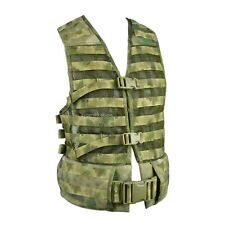 TECHINKOM 6SH117 A-TACS FG Tactical Molle Vest Carrying System