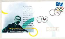 1994 - Fdc 1°Jour -Coubertin - Comite Internationnal Olympique - Cio - Australie