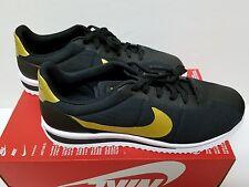 NIKE CORTEZ ULTRA QS Size 9.5 Bruno Mars Black Gold 882493-001 Mens Shoes NEW