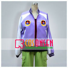 Cosonsen Tiger And Bunny Ivan Karelin Cosplay Costume Purple Green Full Set