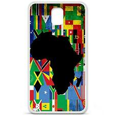 Coque Housse en Silicone France Samsung Galaxy Note 3 N9000 - Drapeau afrique