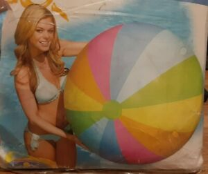 "Intex The Wet Set 48"" Jumbo Ball Inflatable Vinyl Beach Ball 590702T"