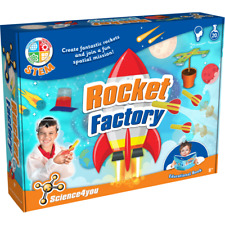 Rocket Factory Science Kit 20 Experiments Age 8+ Science4You