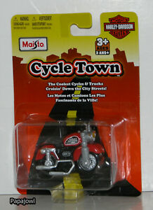 Maisto Harley Davidson Cycle Town Harley Davidson Sportster 883 1:64 Scale ?? S