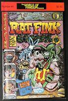 ED BIG DADDY ROTH RAT FINK COMIX World of Fandom #1 1990 NM Comic book
